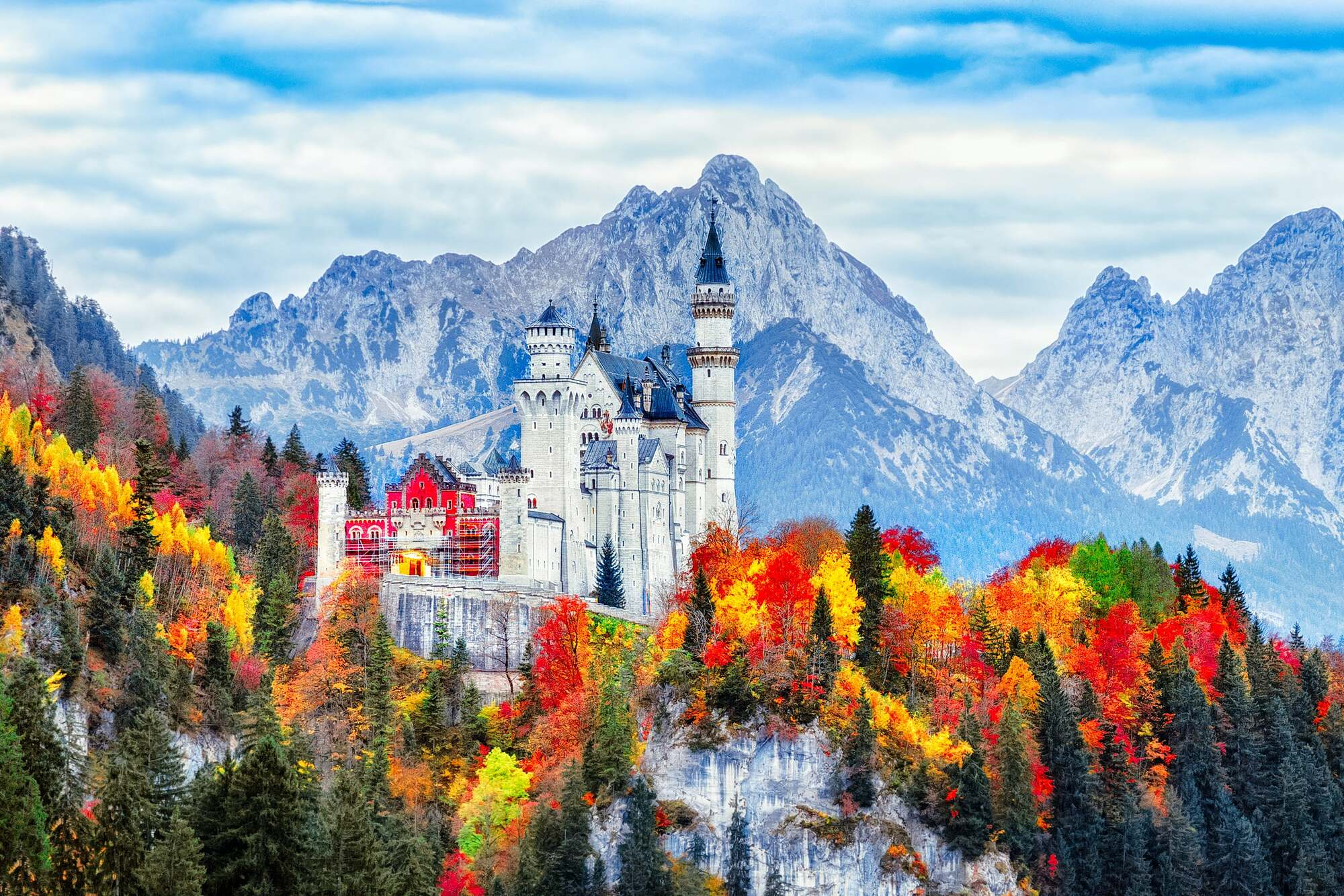 Neuschwanstein Castle, Southern Germany